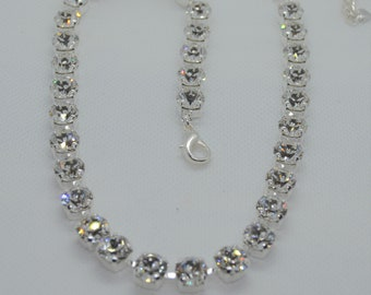 Clear Crystal Swarovski Crystal Necklace 22599ef97