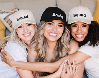 Baseball Cap | Bachelorette Party Custom Hat | Personalized Gifts | Bridesmaid Gifts| Bridesmaid Proposal | Maid of Honor Gifts