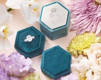 Single Slot Ring Box   Proposal Ring Box   Engagement Ring Box   Wedding Ring Box   Velvet Ring Box   Ring Bearer Box   Monogram Ring Box