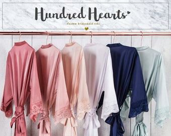Bridesmaid robes  b0c20b86f