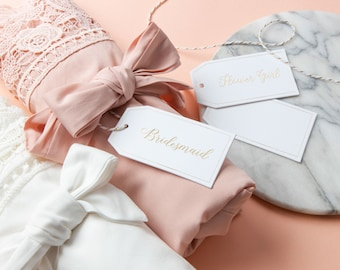 Gift Tag for Robes | Bridesmaid Gift Proposal | Name Tag