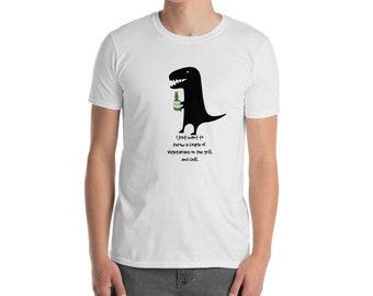 5c2da8db Funny Dinosaur Unisex T-Shirt