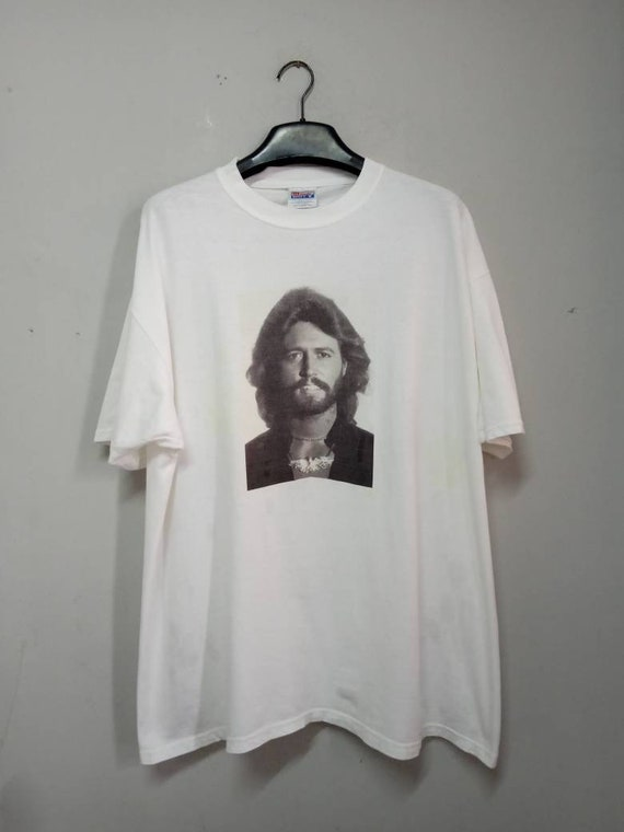 Vintage 90s Barry Gibb Bee Gees Tshirt