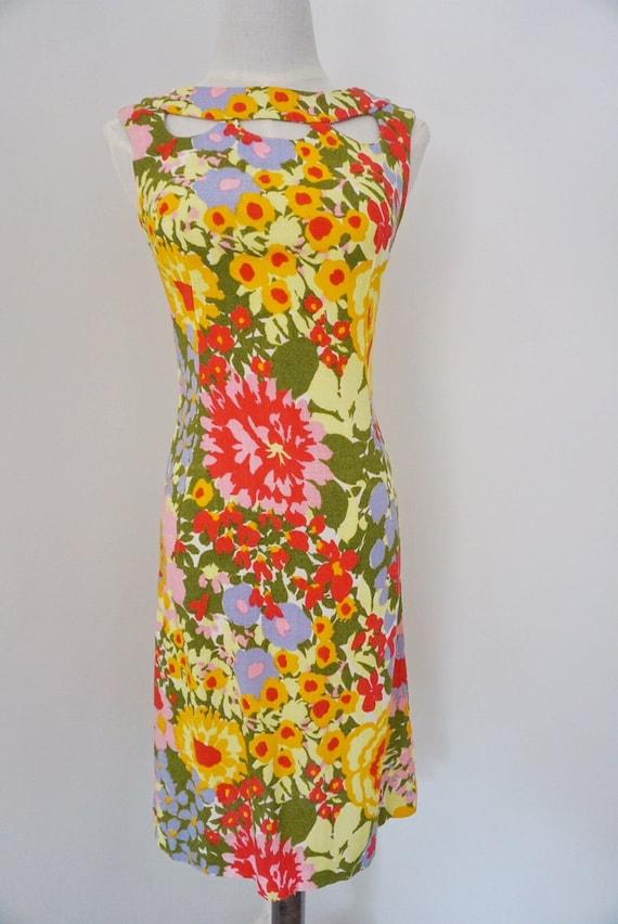 Minx Modes floral wiggle dress