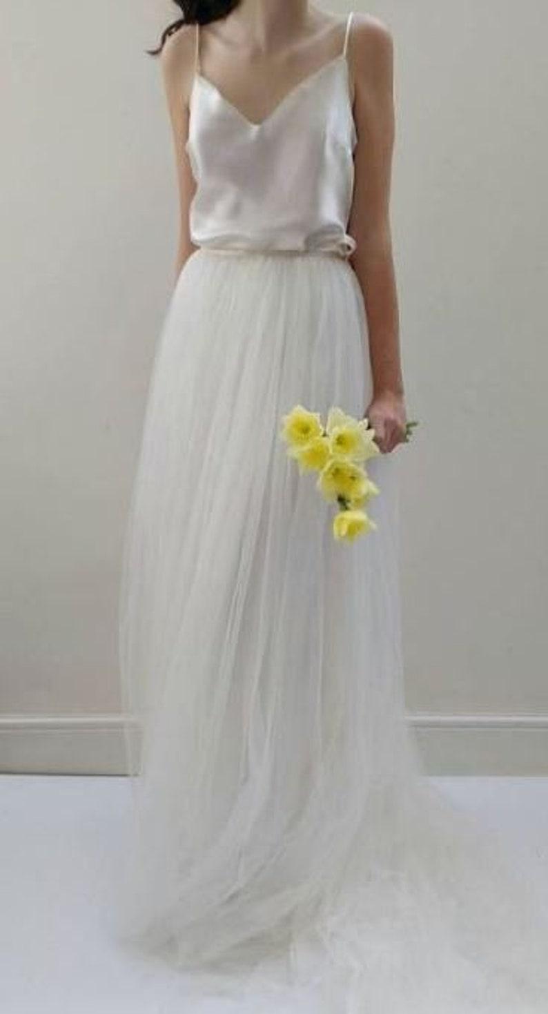 Legeres 19-teiliges Boho Brautkleid aus Atelier