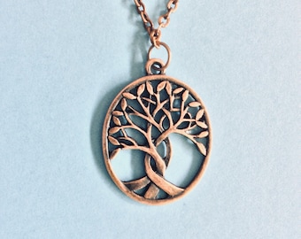 Tree of Life Necklace // Copper Tree of Life // Tree of Life Pendant