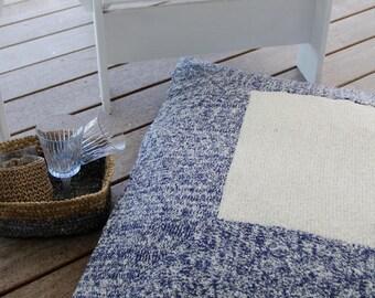 Knitted Floor Cushion