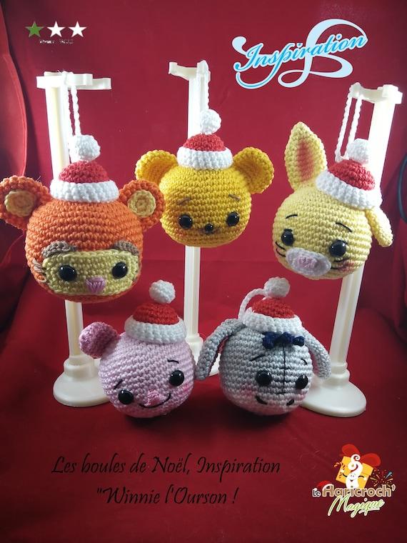 De Tutoriel Au NoëlAmigurumiLes Patron Modèledécorations Noël Boules Crochet OXnN0k8wP