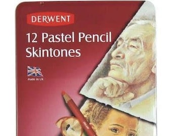 The DERWENT RANGE Various Individual Sets Of Coloured Pencils Watercolour Metallic And Pastel