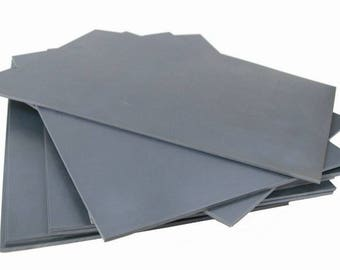 Grey Polymer Sheets Suitable For Lino / Block Printmaking - 300mm x 200mm