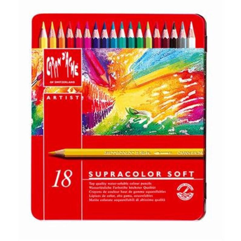 80 120 CARAN D/'ACHE 40 Supracolour Soft Aquarelle Tins 30 18 12