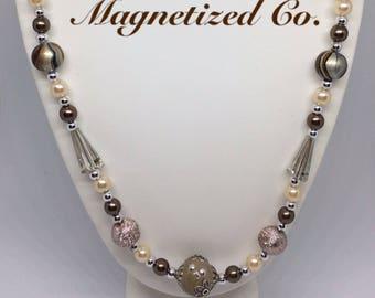 Elegant Champagne Necklace