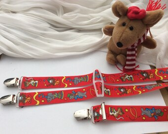 Funny braces children children suspenders lengths selectable new with motif