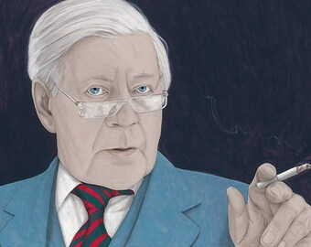 Helmut Schmidt (Poster)