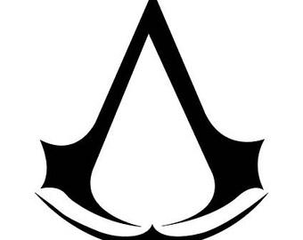 Assassin's Creed Logo Vinyl Sticker