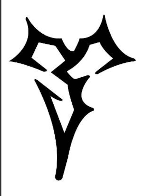 Final Fantasy X Logo Vinyl Sticker