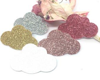 BROOCH NUAGE_ glitter glitter
