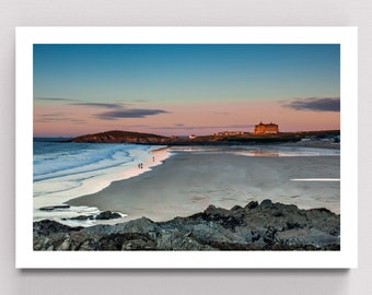 St Pair Seaside Scenes Print Poster A4 A3 A2 A1