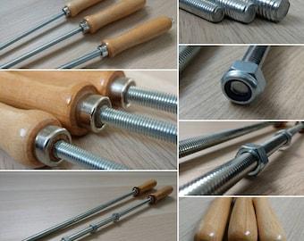 Metal Spanking Cane