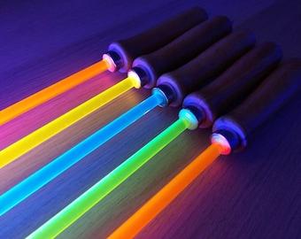 Fluorescent UV/Blacklight Reactive Cane