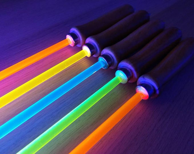 Featured listing image: Fluorescent UV/Blacklight Reactive Cane