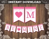 "PRINTABLE ""BE MINE&q..."