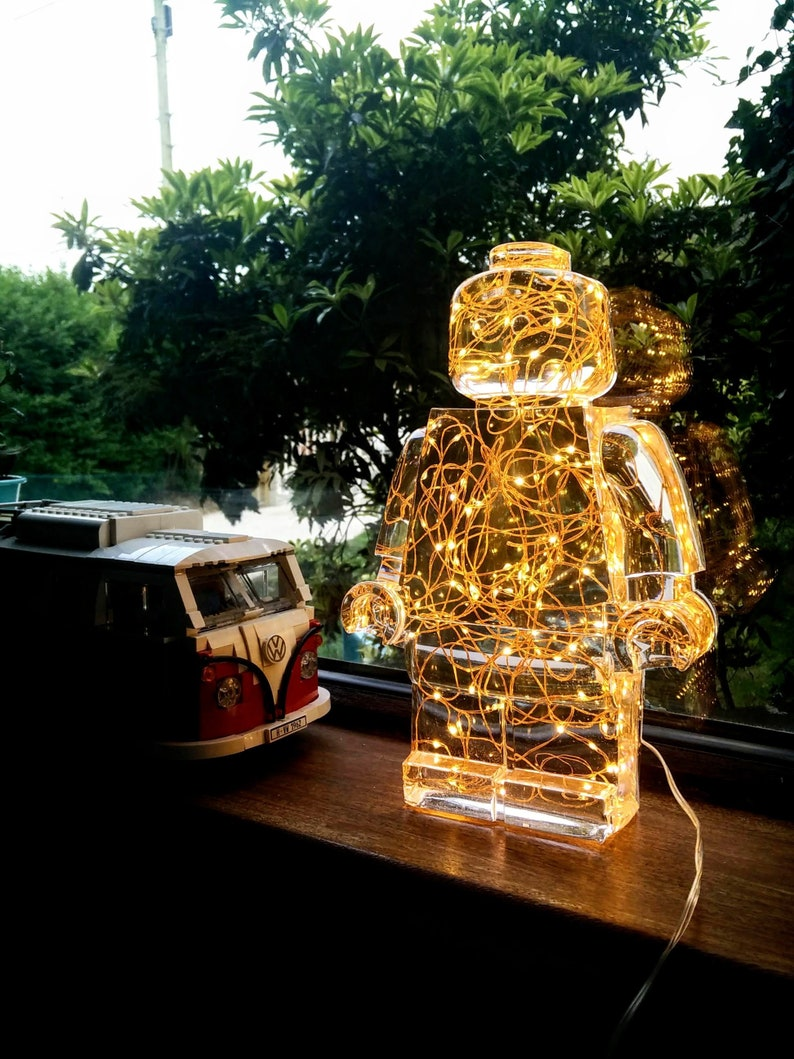 Resin and LED light  Transparent  Clear image 0