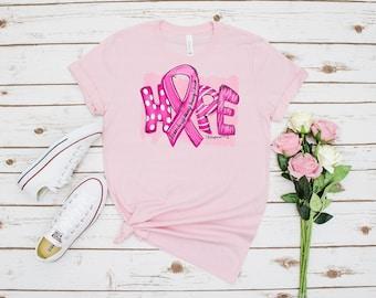 Breast Cancer Awareness T-shirt, Unisex Jersey Short Sleeve Tee, Hope T-shirt