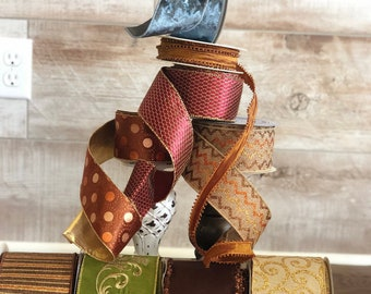 Fall Ribbon Box
