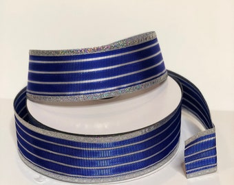 Cobalt Blue 2.5 inch ribbon