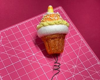 XL Candy Corn Cupcake Pick