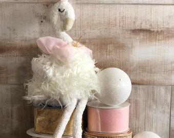 Swan w/ Bow Wreath Kit