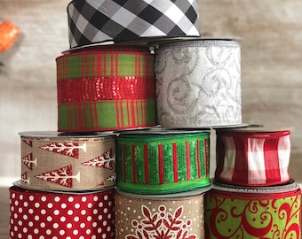 Christmas Ribbon Box