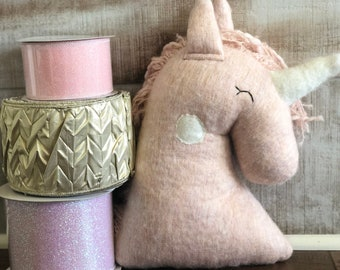 Plush Pink Unicorn Kit