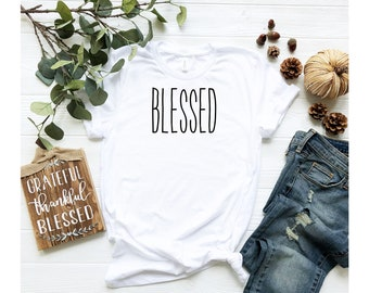 Blessed Shirt, Unisex Jersey Short Sleeve Tee