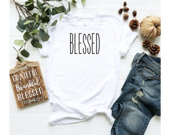 Blessed Shirt, Slim Fit Women's Favorite Tee