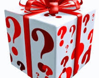 Christmas Mystery Ribbon Box