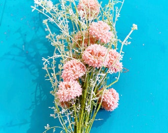Mix Pink Yellow Coral PomPom Pom Pom Ribbon Trim Pompom Colorful Trim