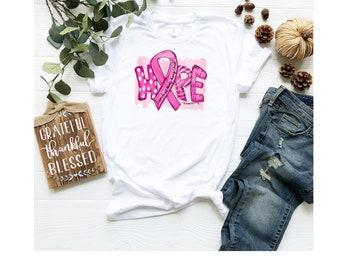 Breast Cancer Awareness T-Shirt, Unisex Jersey Short Sleeve Tee, Hope T-shirt, October Pink T-shirt