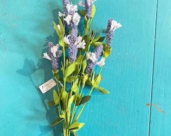 Blooming Wild Flower ~ Blue