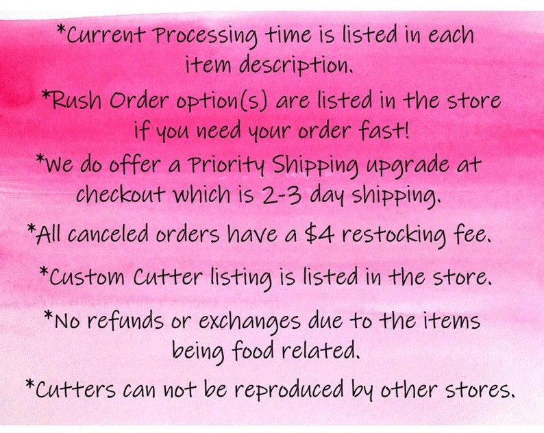 PLA Pokemon Collection Set 5pcs Plastic 3d printed cookie cutters