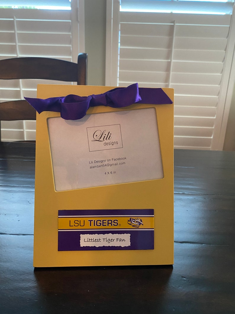 LSU Baby Girl Gift Set