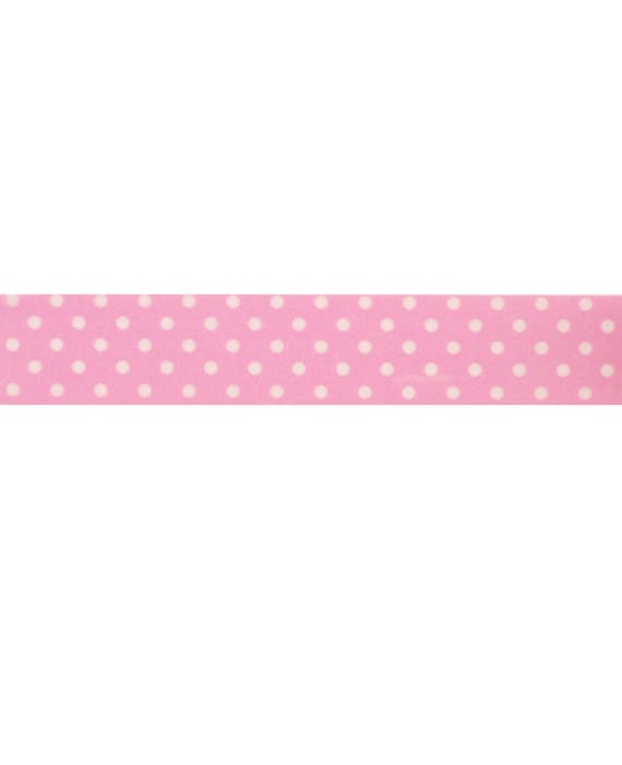 Craft Decorative Tape Pink Dotted Pattern Washi Tape