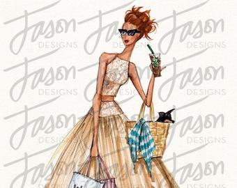 Fashion Illustration Art Print Design 4