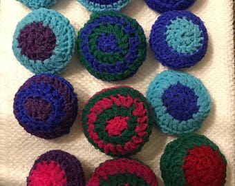 Earth friendly scrubbies