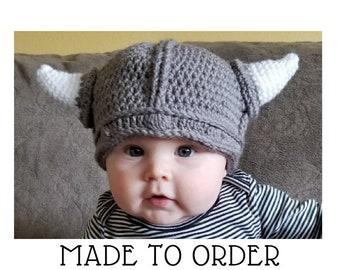 03ec0f7fba0e2 Baby viking hat