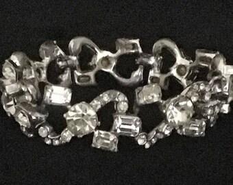 Vintage Ice Crystal Bracelet