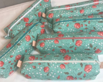Handmade Fabric Pencil Pouch