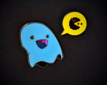 PARANORMAL PACTIVITY: INKY set of 2 enamel pins