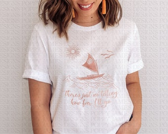 Disney Women/'s Moana Montage Boyfriend Fit T-Shirt